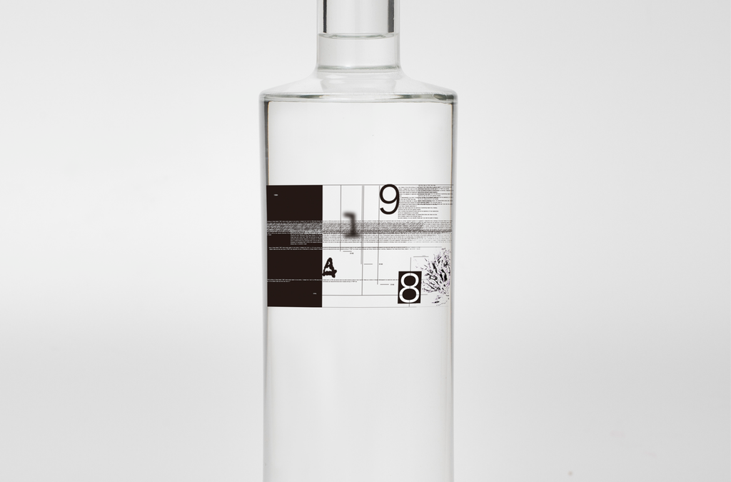 9148 #1001 Smoke Craft Gin